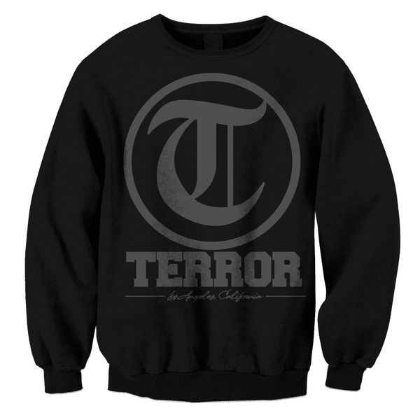 Terror - Icon (Black on Black)