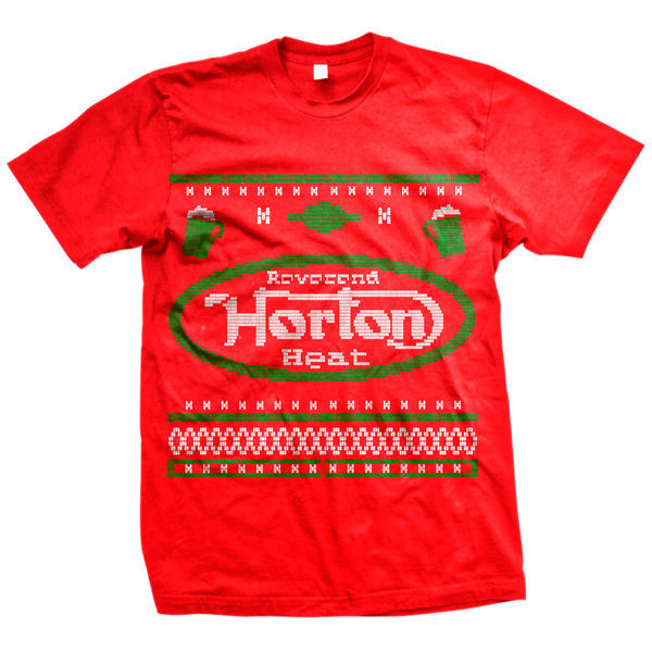 Reverend Horton Heat - 2013 Holiday Design