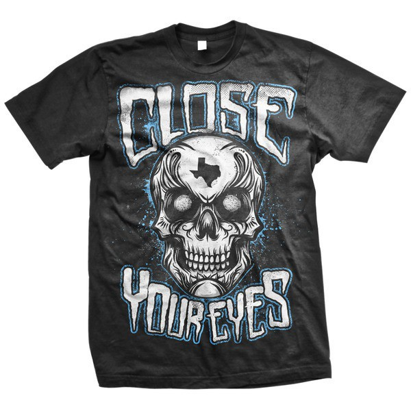 Close Your Eyes - Texas Skull