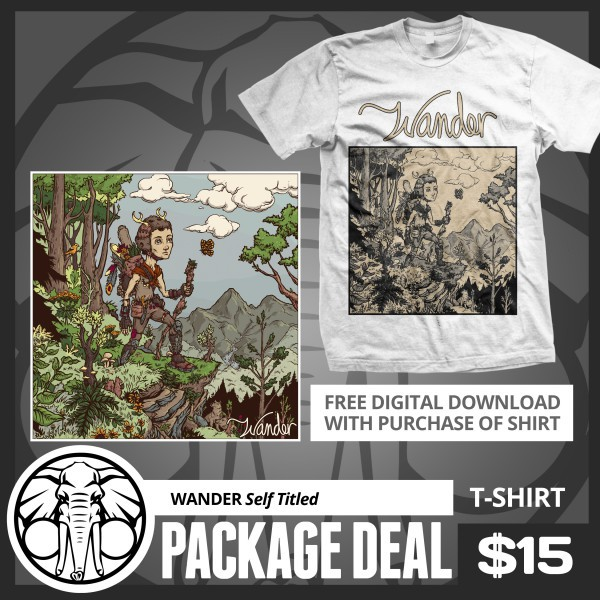 Wander - Shirt and Free Album Download