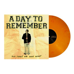A Day To Remember For Those Who Have Heart Vinyl Orange