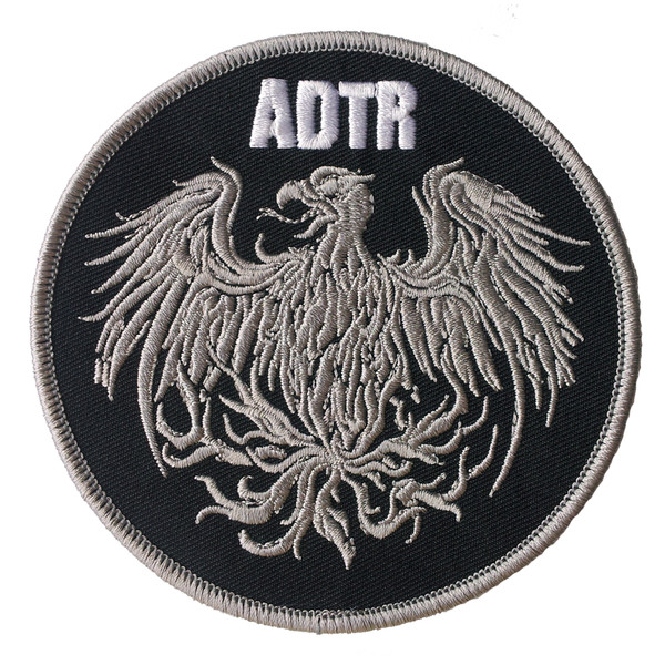 A Day To Remember: Golden Eagle Patch (Black) - Victory Merch A Day To Remember Golden Eagle